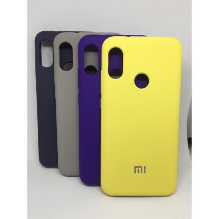 Cиліконовий Чохол Soft Touch для Xiaomi Mi A2 Lite-  Yellow
