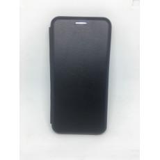 Чехол-книжка Xiaomi Redmi 6A Шкіра (Black)