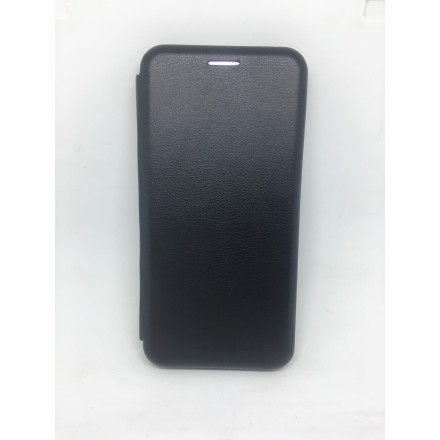 Чохол-книжка Xiaomi Redmi 6A Шкіра (Black)