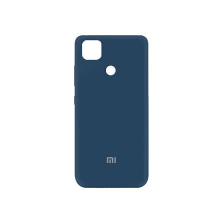 Чохол Silicone cover для Xiaomi Redmi 9C  (Dark Blue)