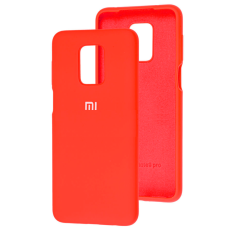 Чохол Silicone cover для Xiaomi Redmi Note 9 Pro/Note 9S (Red)