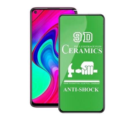 Захисне скло 9D Сeramics Anti-Shock для Xiaomi Redmi Note 9