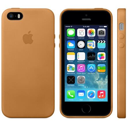 Чохол-накладка Apple Silicone Case для iPhone 5/5S Black