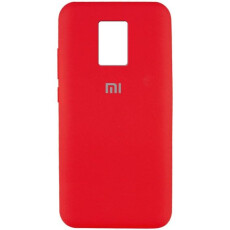 Чохол Silicone cover для Xiaomi Redmi Note 9  (Red)