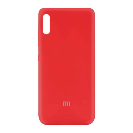 Чохол Silicone cover для Xiaomi Redmi 9A  (Red)