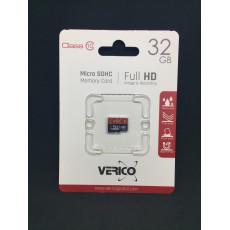 Карта пам'яті Micro SD Verico 32gb class-10   1MCOV-MDH633-NN