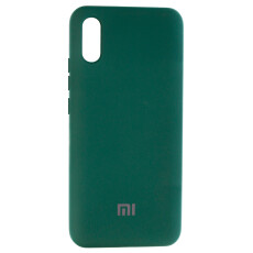 Чохол Silicone cover для Xiaomi Redmi 9A (Dark Green)