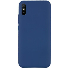 Чохол Silicone cover для Xiaomi Redmi 9A  (Dark Blue)