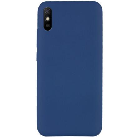 Чохол Silicone cover для Xiaomi Redmi 9A  (Dark Blue)