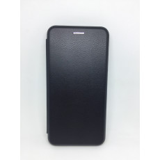 Чехол-книжка для Xiaomi Redmi Note 7  (Кожа) black