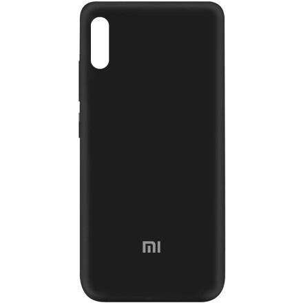 Чохол Silicone cover для Xiaomi Redmi 9A (Black)