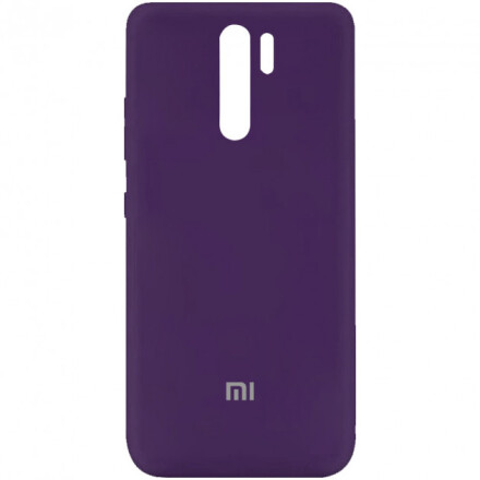 Чохол Silicone cover для Xiaomi Redmi 9  (Dark Blue)