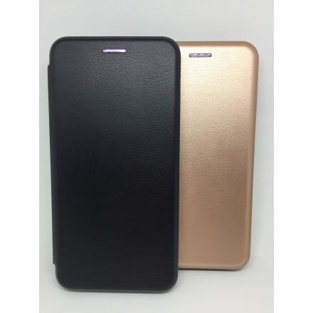 Чохол - книжка для Xiaomi Mi A2 Lite Шкіра (Black)
