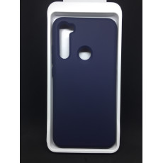 Чохол Silky для Xiaomi Redmi Note 8 (Dark Blue)