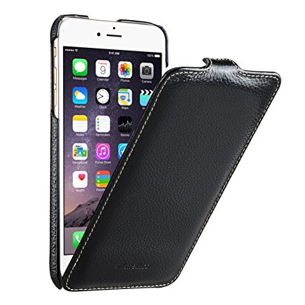 Flip Cover by Melkco for iPhone 6 Plus Black