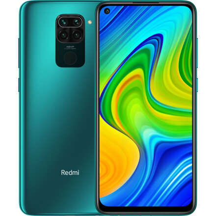 Xiaomi Redmi Note 9 4/128Gb  NFC -(Green) EU - Міжнародна версія