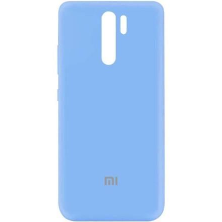 Чохол Silicone cover для Xiaomi Redmi 9 (Blue)