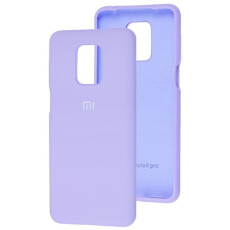 Чохол Silicone cover для Xiaomi Redmi Note 9 (Blue)