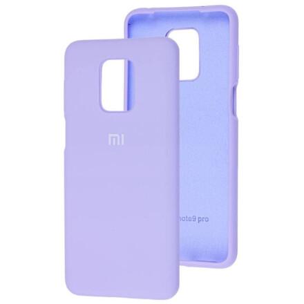 Чохол Silicone cover для Xiaomi Redmi Note 9 (Blue)