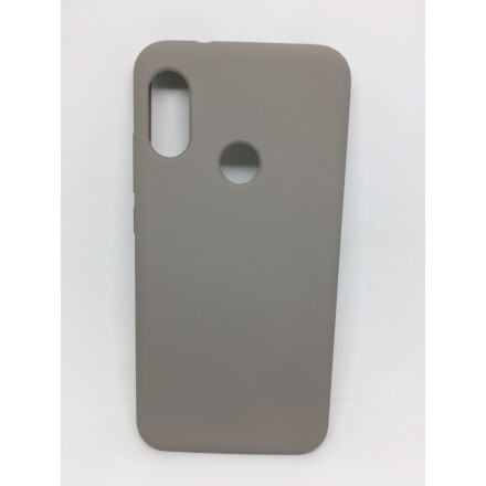 Cиліконовий Чохол Soft Touch для Xiaomi Mi A2 Lite- Grey