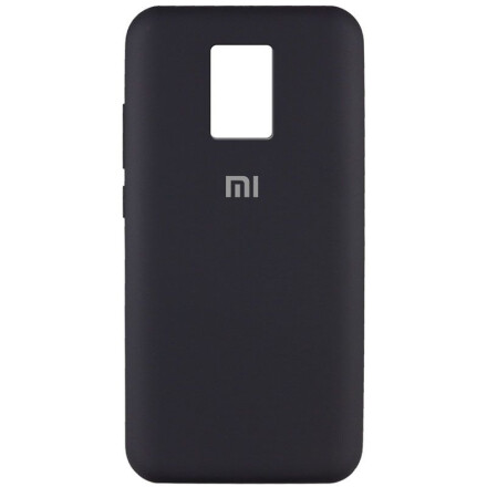 Чохол Silicone cover для Xiaomi Redmi Note 9 Pro (Black)