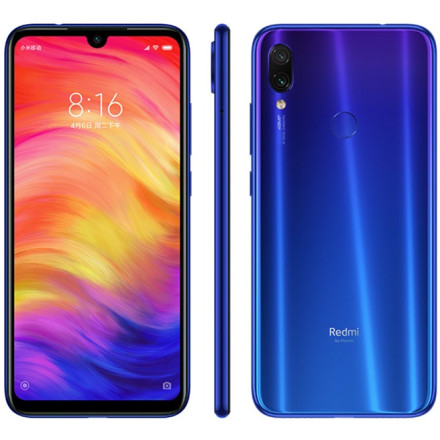 Xiaomi Redmi Note 7 4/64Gb Blue EU - Global Version
