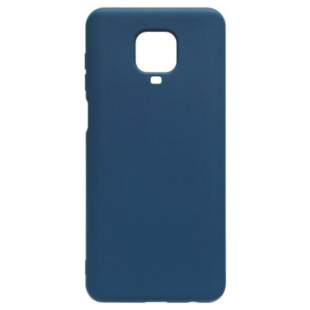 Чохол Silicone cover для Xiaomi Redmi Note 9 Pro/Note 9S (Dark Blue)