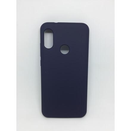 Cиліконовий Чохол Soft Touch для Xiaomi Mi A2 Lite- Dark Blue